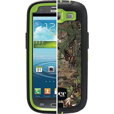 Otterbox Realtree Defender Case for Samsung Galaxy Slll - Xtra Green