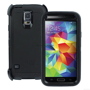 OtterBox Samsung Galaxy S5 Case Defender Series - Black