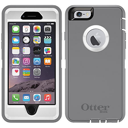 OtterBox Apple iPhone 6 Case Defender Series - Gray/White
