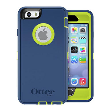 OtterBox Apple iPhone 6 Case Defender Series - Citron Blue