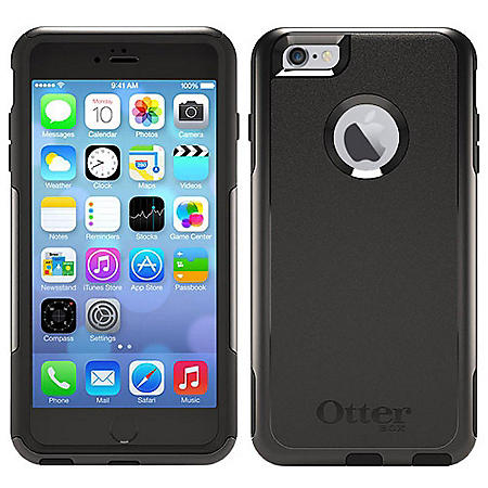 buy online dad3c 37272 OtterBox iPhone 6 Plus Case Commuter Series - Black - Sam's Club