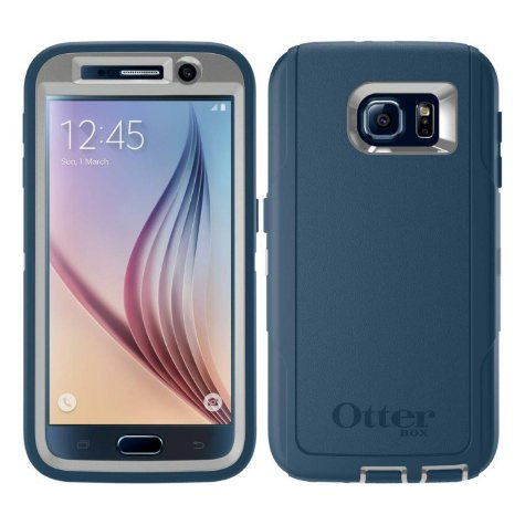 OtterBox Defender case for Samsung Galaxy S6 - Blue
