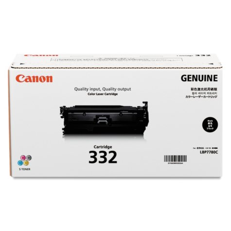 Canon 332LL Toner Cartridge, Black (6,400 Page-Yield)