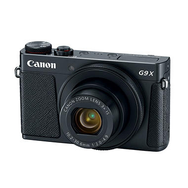 Canon PowerShot G9X Digital Camera Bundle with 20.2MP, 3x Optical Zoom, Camera Case and 8GB SDHC Card