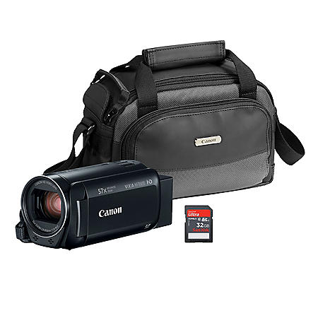 Canon VIXIA HFR800 Bundle (Black)