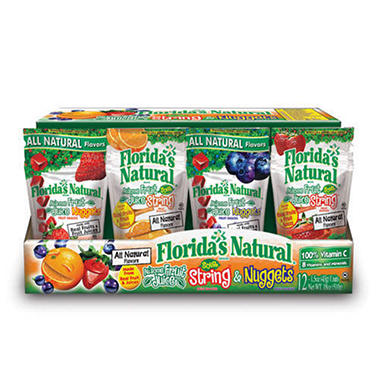 Florida's Natural Au'some Fruit Juice Variety (1.5 oz. resealable pouch, 12 ct.)