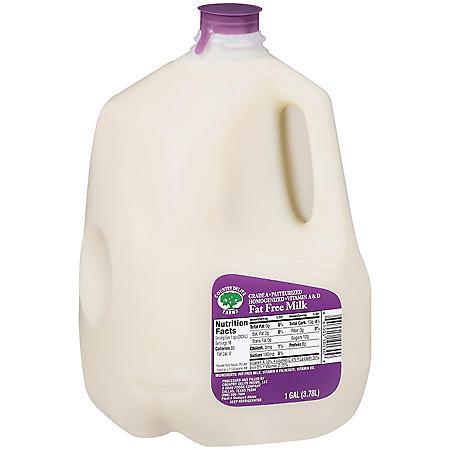 Country Delite Farms Fat Free Milk  (1 gal.)