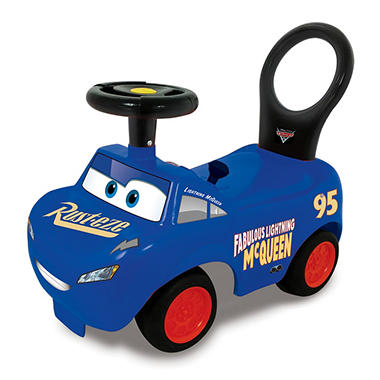 Cars 3 Blue McQueen Ride On by Kiddieland