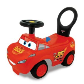 Disney Lightning McQueen Activity Ride On