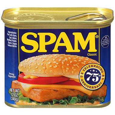 Spam Lunched Meat - 12 oz. - 3 pk.
