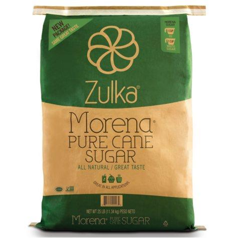 Zulka Pure Cane Sugar (25 lbs.)