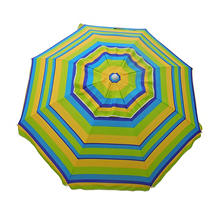DestinationGear 7' Beach Umbrella, Lemon and Lime