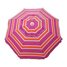 DestinationGear 7' Beach Umbrella, Mango Rose