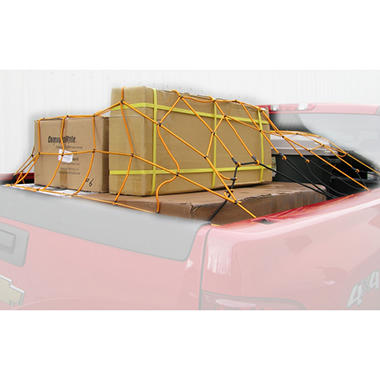HitchMate 5-ft x 8-ft Cargo Stretch Web with Bag and 12 Hooks