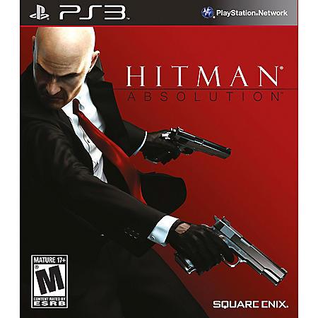PS3 HITMAN ABSOLUTIO PS3 VIDEO GAME