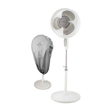 outdoor misting fan with protective cover - Outdoor Misting Fan