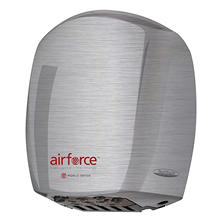 World Dryer Airforce Brushed Stainless Steel Hand Dryer