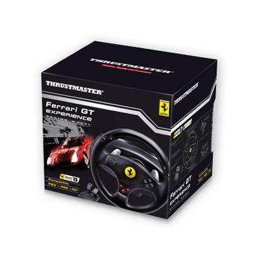 Ferrari GT Experience Racing Wheel for the PS3, PS2 or PC