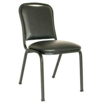 Charmant Free Shipping. View. MGI Commercial Quality Vinyl Stack Chair, Black