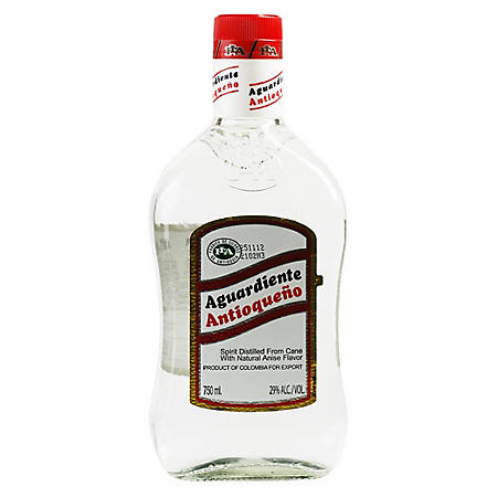 Aguardiente Antioqueno Sin Azucar (750 ml)