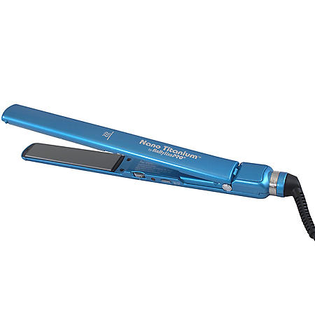 """BaBylissPro Nano Titanium Ultra-Slim 1"""" Flat Iron"""