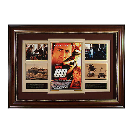 """""""Gone in 60 Seconds"""" Cast-Autographed Movie Poster"""