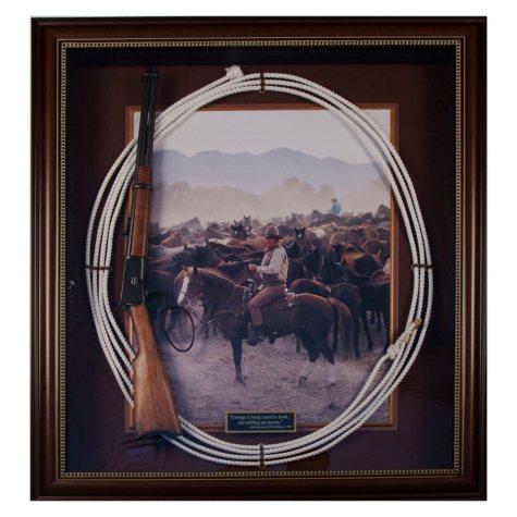 "John Wayne ""The Undefeated"" Original Western Memorabila in Archival Frame"