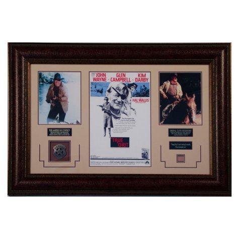 """True Grit"" Movie Photos & Swatch of John Wayne's Red Scarf"