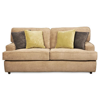 Delightful Grayson Full Size Sleeper Sofa