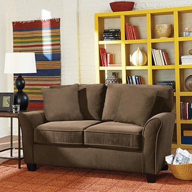 Sofa Smart Muse II Loveseat, Chocolate