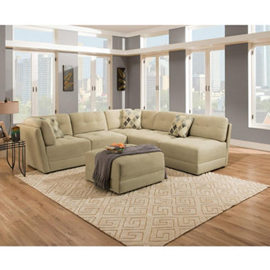 Grayson 4-Piece Modular Sectional