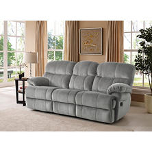 Keesling Motion Sofa with Drop Down Console (Assorted Colors)
