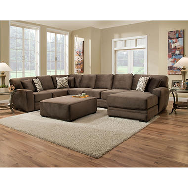 mark collection 3piece sectional sofa
