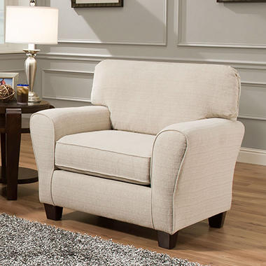 Sofa Smart Maggie Cream Teardrop Arm Chair