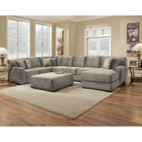 Member S Mark Brooke Collection 3 Piece Sectional Sofa