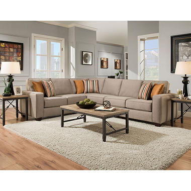 Lauren Collection 2-Piece Sectional