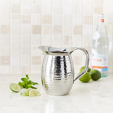 Artisan Metal Works 2 qt. Insulated Stainless Steel Water Pitcher
