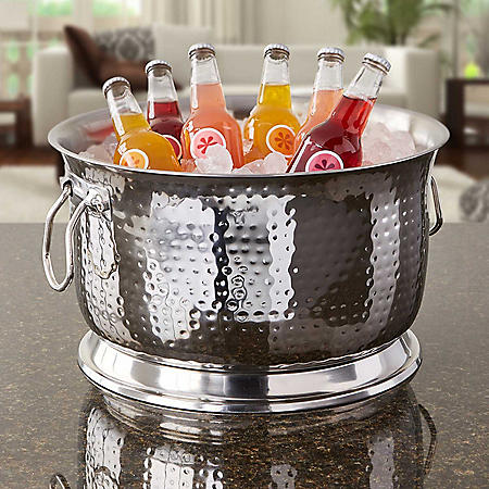 Artisan Double Wall, Stainless Steel Beverage Chiller Ice Tub (Choose Your Size)