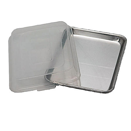 Artisan Metal Works 1/4 Size Aluminum Sheet Pan with Cover