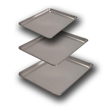 Artisan Metal Works Aluminum Sheet Pan Set - 3 pk.