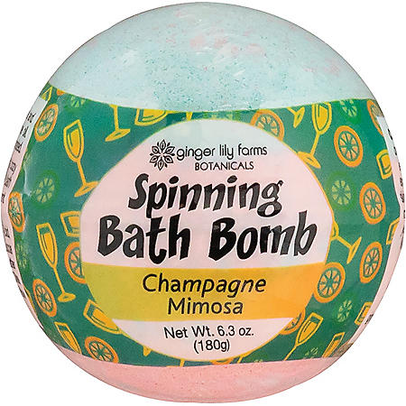 Ginger Lily Farms Spinning Bath Bombs, Choose Your Scent (6 pk.)