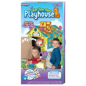 ArtSkills Color Your Own Playhouse