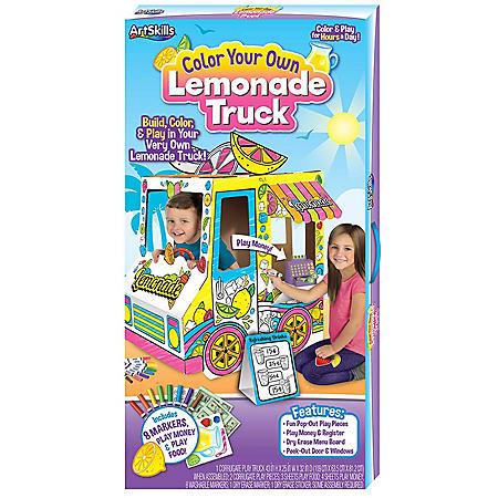 ArtSkills Color Your Own Lemonade Truck