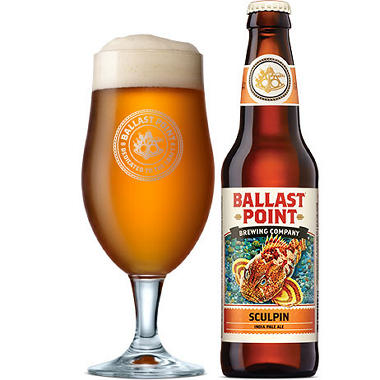Ballast Point Sculpin India Pale Ale (22 fl. oz. bottle)