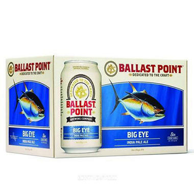 Ballast Point Big Eye India Pale Ale (12 fl. oz. can, 6 pk.)