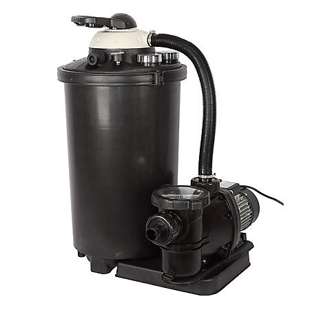"16"" 100-lb. Sand Filter System for Above-Ground Pools"