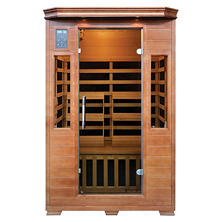 Hemlock Premium Infrared Sauna with 6 Carbon Heaters: 2 Person Capacity (SA3209)