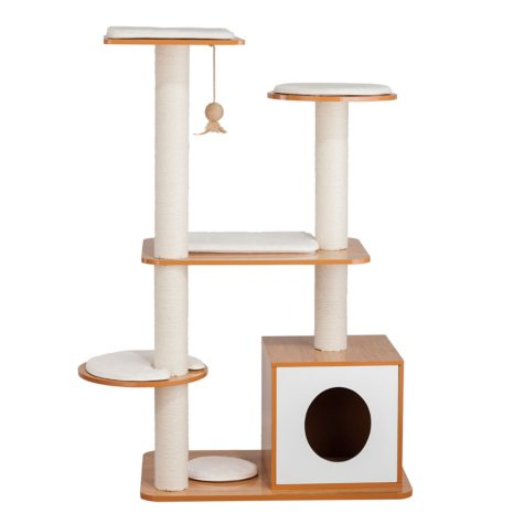 Elegant Home Fashions Cat Post Tower Box (Choose Your Color)