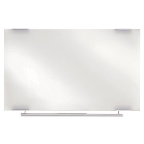 Iceberg Clarity Glass Dry Erase Board, Frameless,  48 x 36