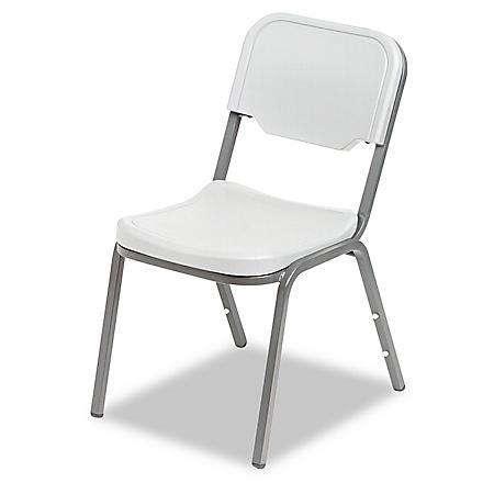 Iceberg - Rough N Ready Original Stack Chair, Resin, 4 Pack - Various Colors